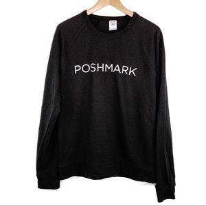 Poshmark Black Crewneck Sweatshirt Size XL